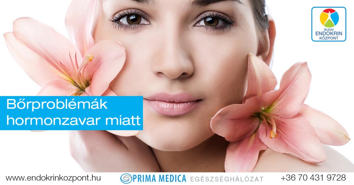 Hormonok és a bőr