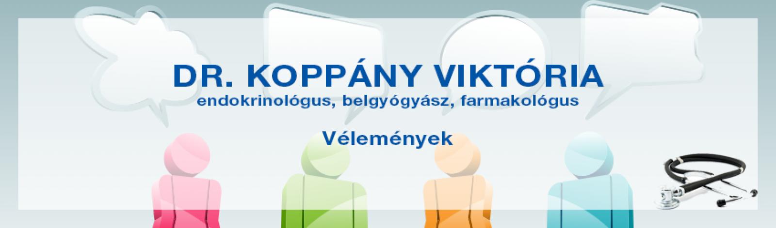 Vélemények dr. Koppány Viktóriáról