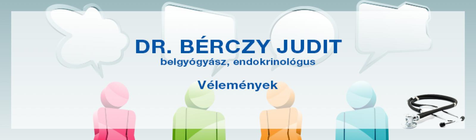 Vélemények dr. Bérczy Juditról